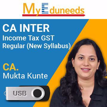 Picture of Income Tax GST Regular (New Syllabus)