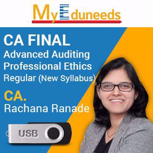 Picture of Advanced Auditing Professional Ethics Regular WITH MCQ BOOK(NewSyllabus)