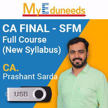 Picture of CA Final SFM Regular (New Syllabus)