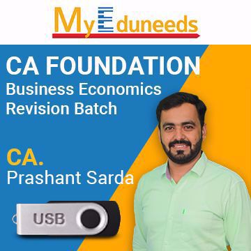 Picture of CA Foundation Business Economics Revision Batch