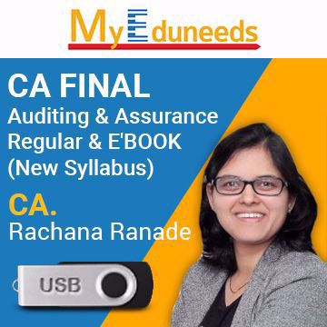Picture of Auditing & Assurance Regular & E'BOOK(New Syllabus)