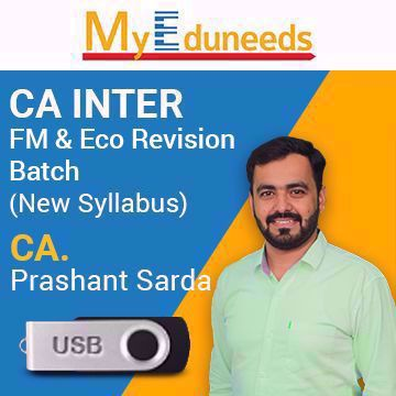 Picture of CA Inter FM & Eco Revision Batch Video Lectures by CA Prashant Sarda